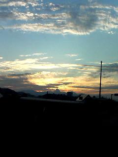休みは やっぱり夕陽(^○^)