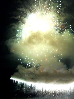 遠野の花火。