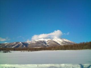 冬晴れの休日。