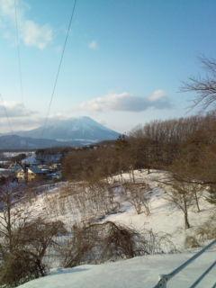 真冬の休日。